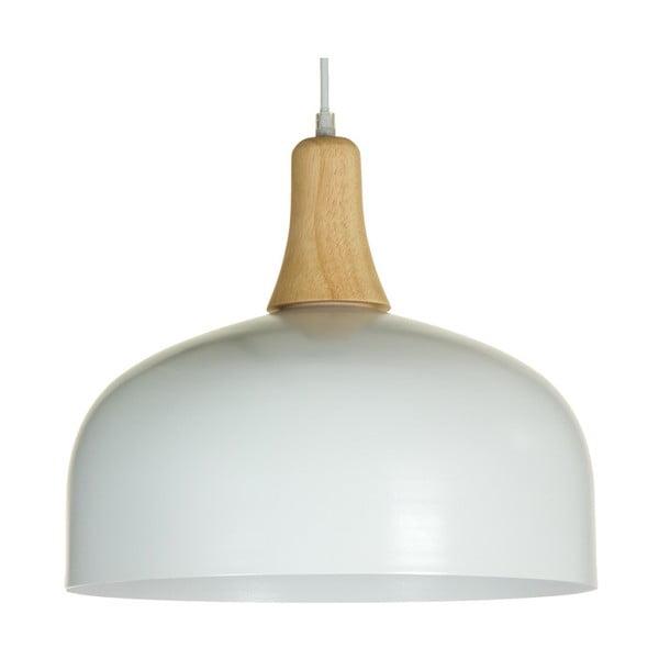 Biała lampa wisząca Santiago Pons Pama