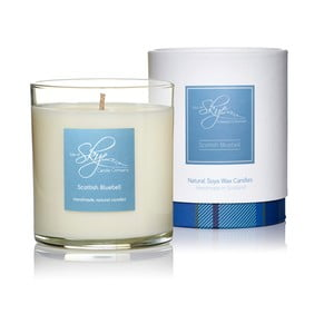 Świeczka o zapachu róży, jaśminu, żywicy galbanum i hiacyntowca Skye Candles Tumbler, 45h