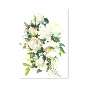 Plakat White (projekt Suren Nersisyan)