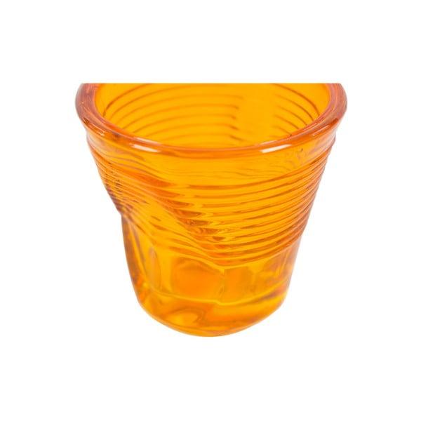 Komplet 6 szklanek Kaleidoskop 115 ml, pomarańczowy
