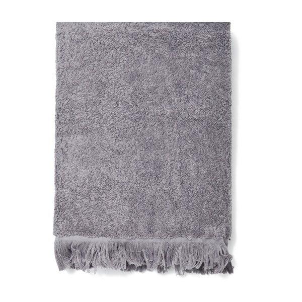 Zestaw 2 szarych ręczników i 2 ręczników kąpielowych Casa Di Bassi Bath