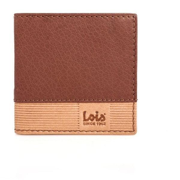 Kožená klíčenka Lois Brown, 9,5x9,5 cm