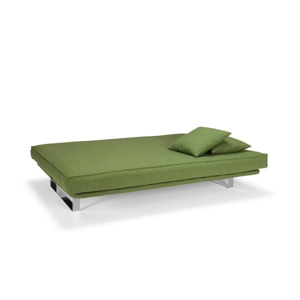 Rozkładana sofa Minimum, zielona