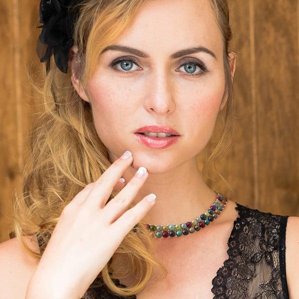 Naszyjnik z pereł słodkowodnych Priscilla