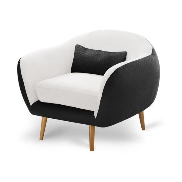 Fotel Meteore Black/White