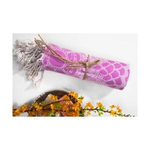 Ręcznik hammam Lace, różowy