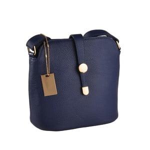 Niebieska torebka skórzana Florence Bags Larissa