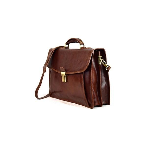 Skórzana torba Santo Croce VL8256 Brown