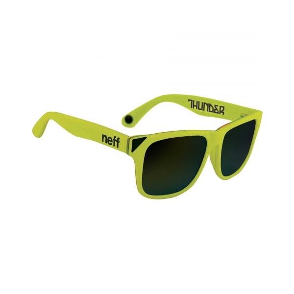 Okulary przeciwsłoneczne Neff Thundre Neon Yellow