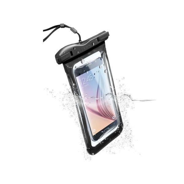 Etui na telefon, wodoszczelne, uniwersalne Cellularline VOYAGER, czarne