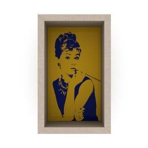 Żółta półka Rafevi Audrey