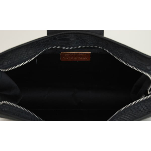 Skórzana torebka Bonnie Nero