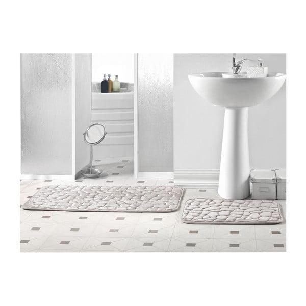 Zestaw 2 dywaników łazienkowych Mirray Rock