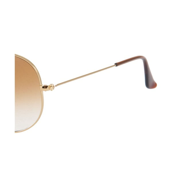 Okulary przeciwsłoneczne Ray-Ban Aviator Caramel Gold