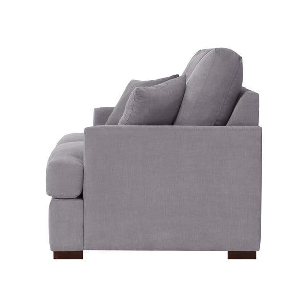 Sofa trzyosobowa Jalouse Maison Irina. szara