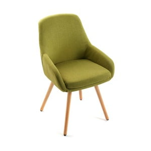 Zielony fotel Versa Lerwick Green