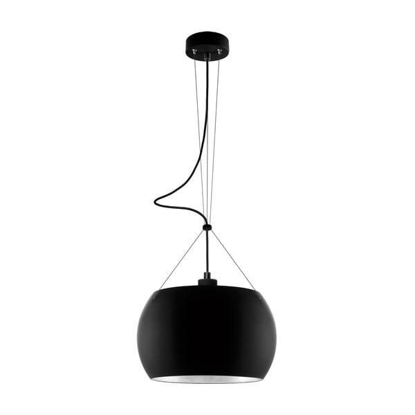 Lampa MOMO, black matte silver/black