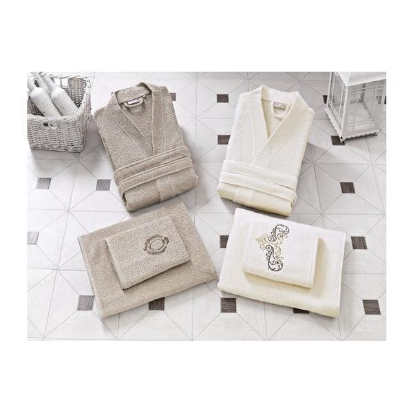 Rodzinny zestaw szlafroków i ręczników Kate