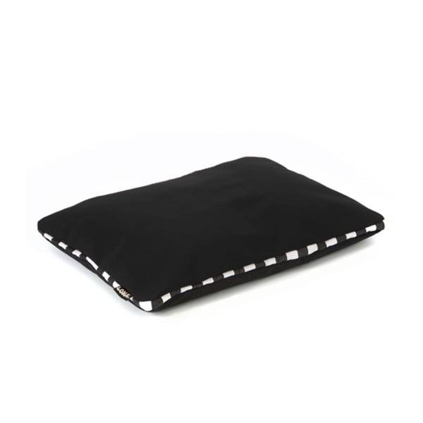 Poduszka Lona 50x40 cm, czarna