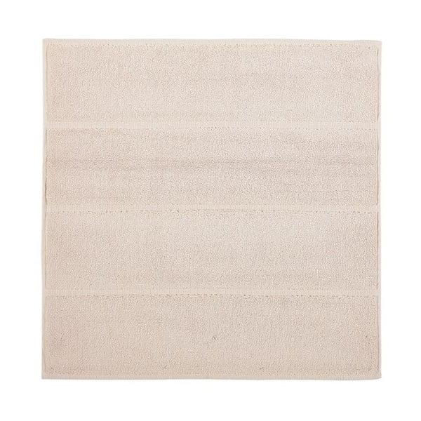 Kremowy dywanik łazienkowy Aquanova Adagio, 60x60cm