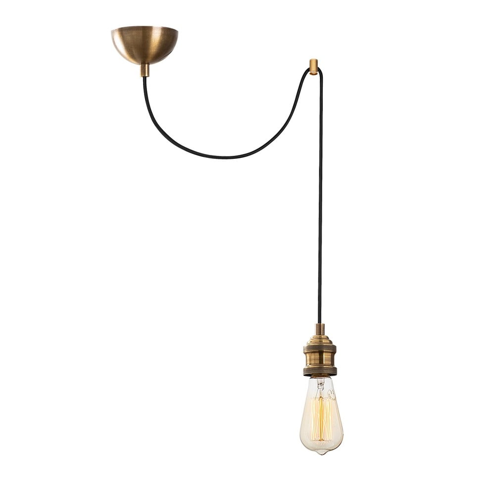 Lampa wisząca w kolorze brązu Opviq lights Kabluni