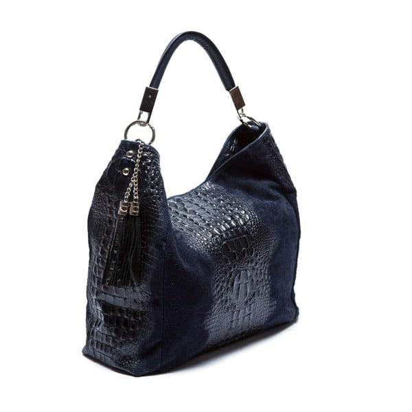 Niebieska skórzana torebka Sofia Cardoni Belinda