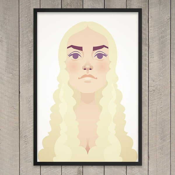 "Plakat ""The mother of dragons"", 29,7x42 cm"