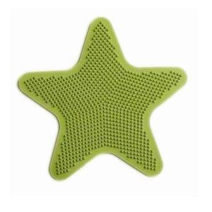 Zestaw 6 mat dekoracyjnych do łazienki Star Green