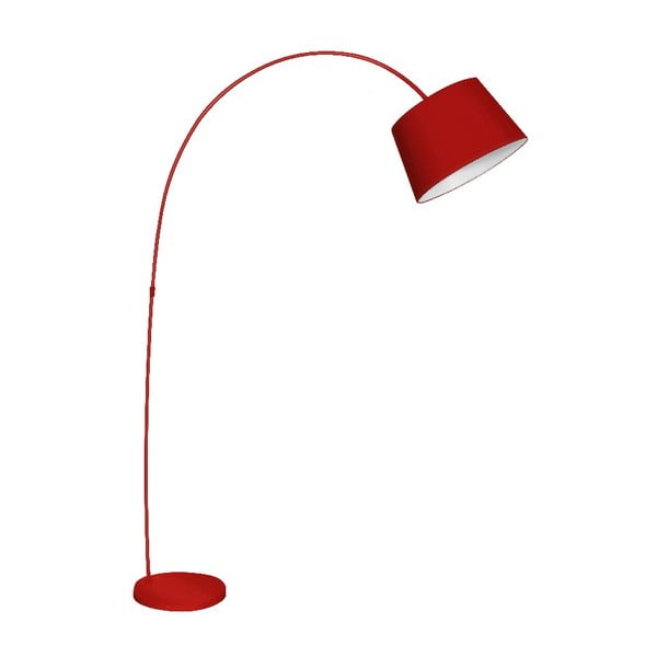 Lampa stołowa Arched Red