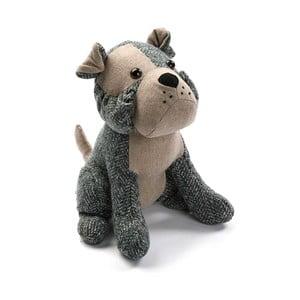 Szary stoper do drzwi w kształcie psa VERSA Dog