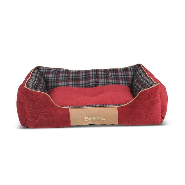 Legowisko dla psa Highland Bed 90x70 cm, czerwone
