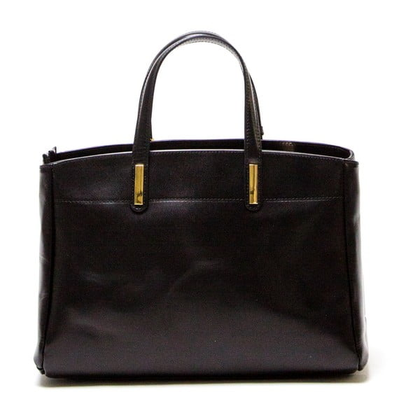 Skórzana torebka Luisa Vannini 380 Nero