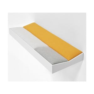 Snug White Orange, wyściełana półka 60 cm