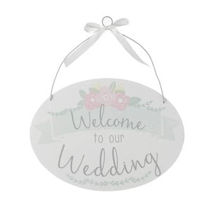 Dekoracja Heaven Sends Welcome to Our Wedding