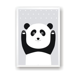 Plakat Nord & Co Snow Panda, 40x50 cm
