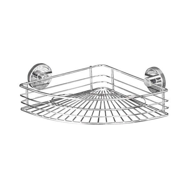 Narożna półka z przyssawką Wenko Vacuum-Loc, do 33 kg