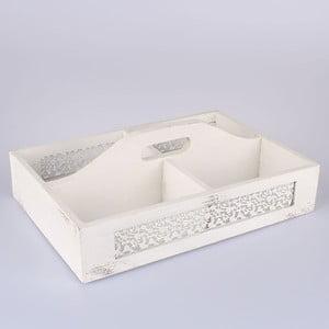 Drewniana skrzynka Parma, biała