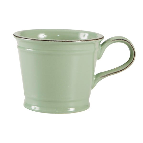 Zielony kubek porcelanowy T&G Woodware Pride of Place, 300 ml