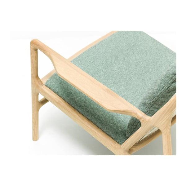 Fotel Dedo Gazzda, szaro-zielony