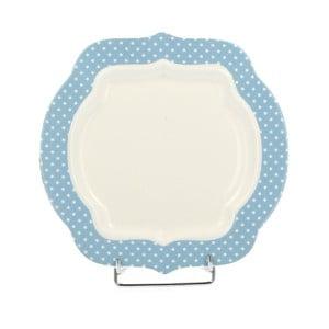 Porcelanowy talerzyk deserowy Retro Blue, 21 cm