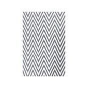 Dywan wełniany Zig Zag Grey, 200x140 cm