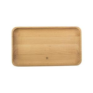 Taca drewniana Sola Flow, 30x17 cm