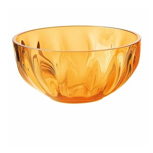 Pomarańczowa miska Fratelli Guzzini. 15 cm