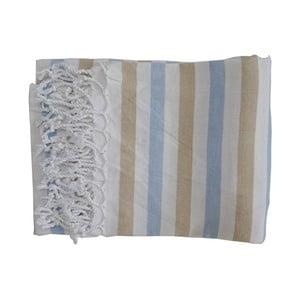 Szary ręcznie tkany ręcznik z bawełny premium Afrika,100x180 cm