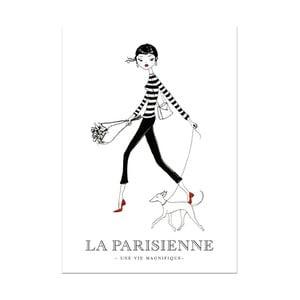 Plakat Leo La Douce Dans La Rue, 29,7x42cm