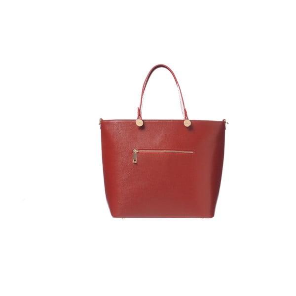 Skórzana torebka Miss Red