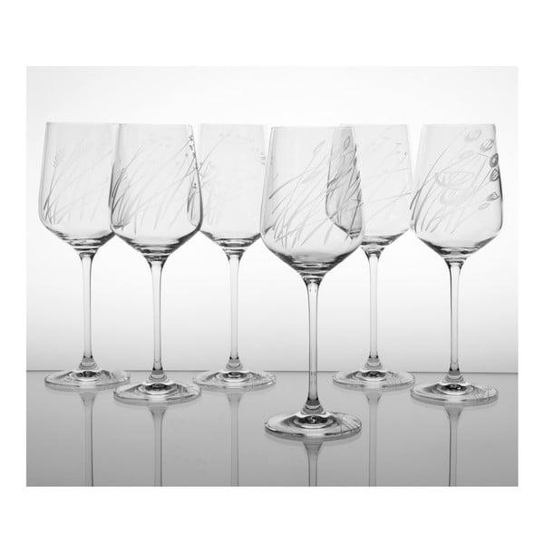 Zestaw 6 kieliszków do białego wina Wielicha na górze