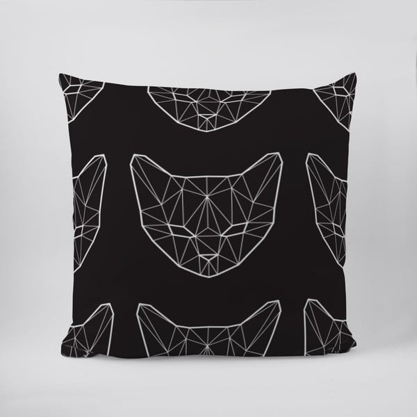 Poduszka Geometric Cat