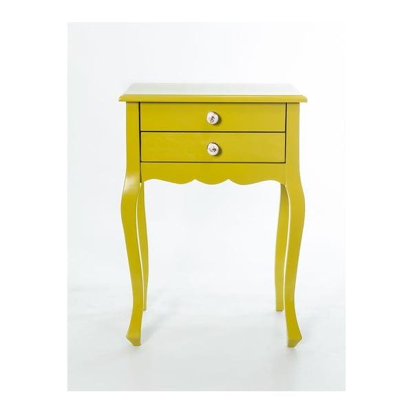 Szafka Nora Yellow, 52x35x72 cm