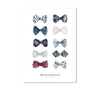 Plakat Leo La Douce The Gentlemen's Bow Ties I, 42x59,4 cm